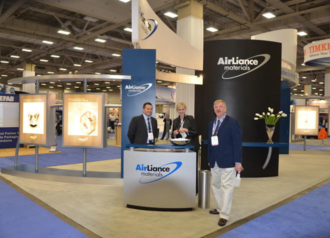 AirLiance Trade Show Booth