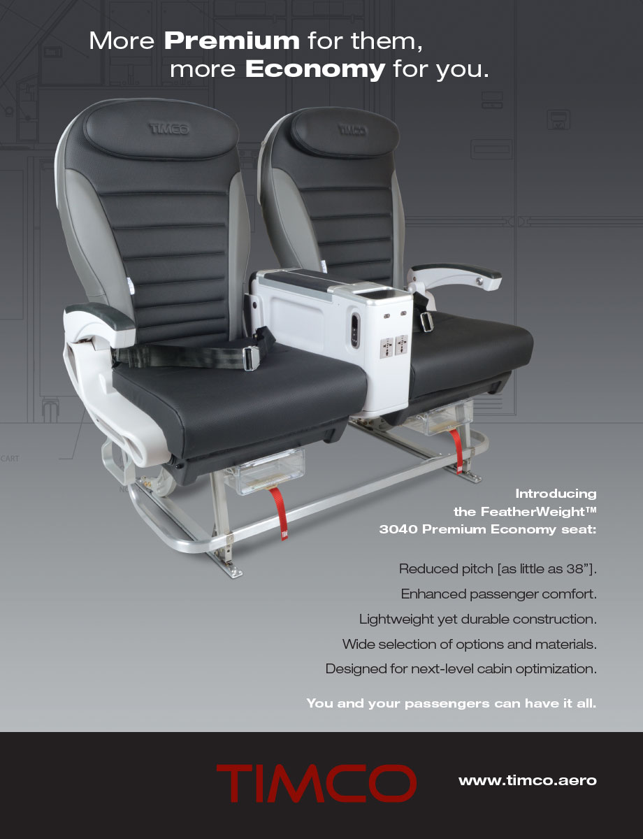 TIMCO aircraft seating
